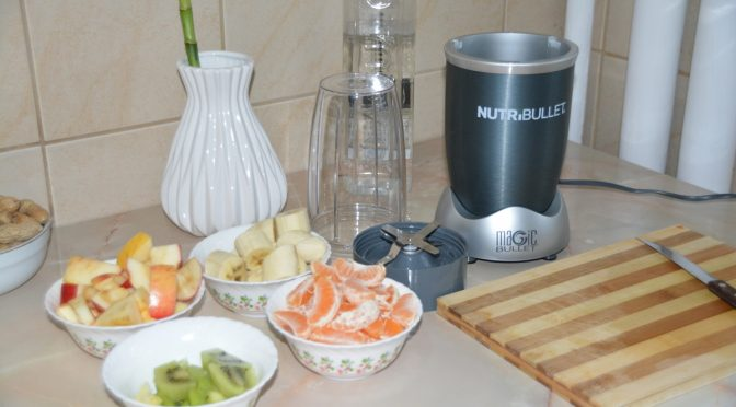 Review Nutribullet 600 Primul suc