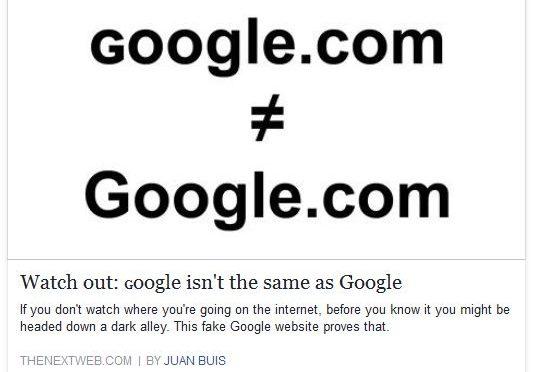Atentie la accesarea linkurilor catre google.com