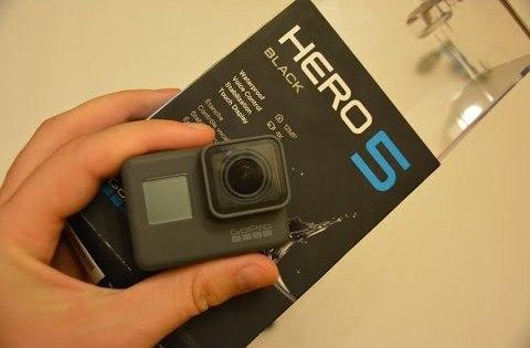 Unboxing – GoPro Hero5 Black – Super Action