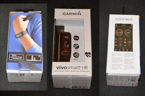 Unboxing Garmin Vivosmart HR – Fitness bracelet – bratara
